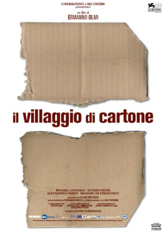 Locandina Il villaggio di cartone