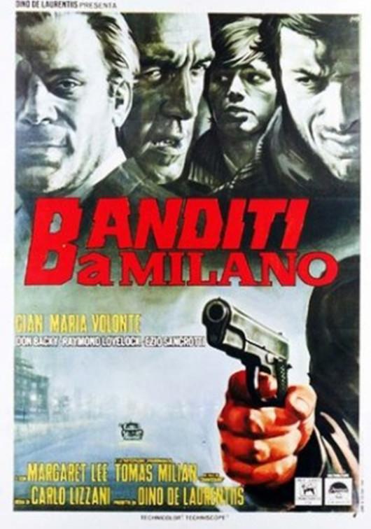 Locandina Banditi a Milano
