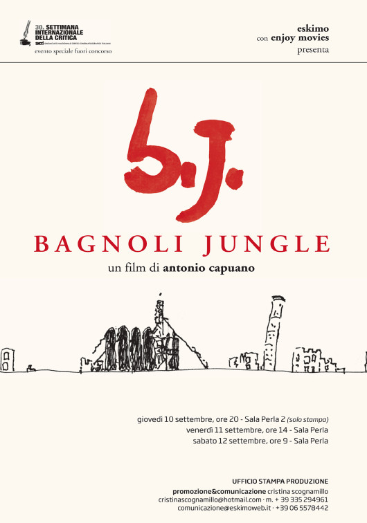 Locandina Bagnoli Jungle