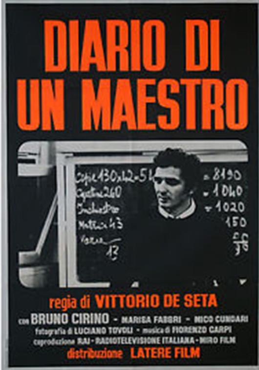 Locandina Diario di un maestro