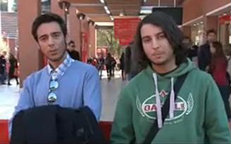 Locandina Intervista ai ragazzi dell'Istituto Rossellini di Roma sui gusti del cinema