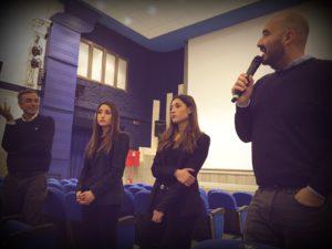 Nicola Guaglianone e Angela e Marianna Fontana