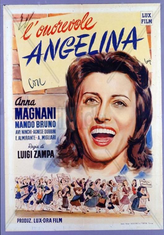 Locandina L'onorevole Angelina