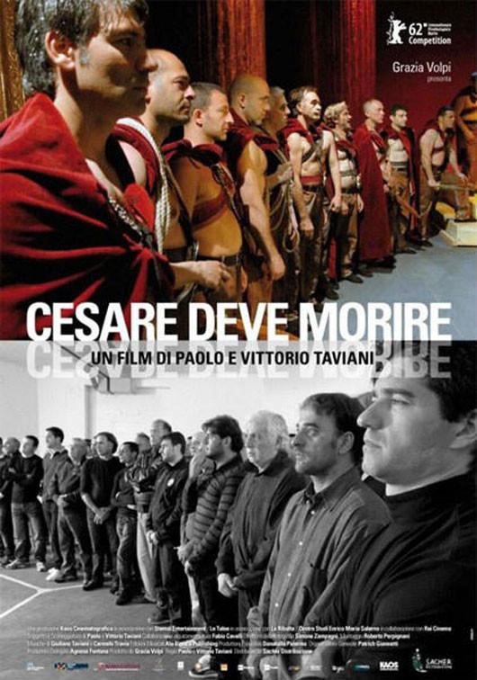 Locandina Cesare deve morire
