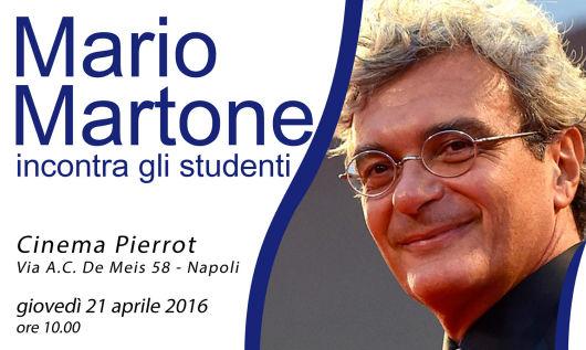 Cinema. Mario Martone incontra gli studenti della periferia orientale napoletana