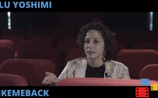 Locandina Blu Yoshimi – Le sfide del cinema al tempo dei social