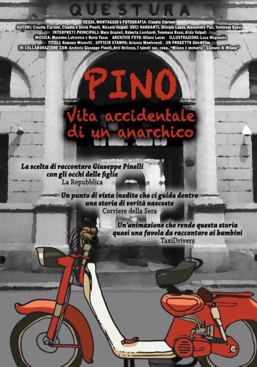 Locandina Pino, vita accidentale di un anarchico