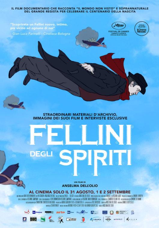 Locandina Fellini degli spiriti